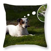 I Wish I Would... Throw Pillow