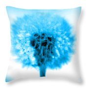 I Wish In Turquoise Throw Pillow