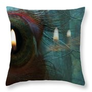 I Woke Up In A Dream Today Throw Pillow
