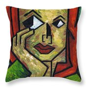 I Wonder Throw Pillow by Kamil Swiatek
