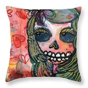 I Would Like You To Love Me Throw Pillow
