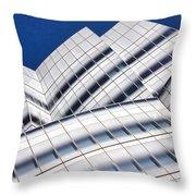 Iac Building Throw Pillow