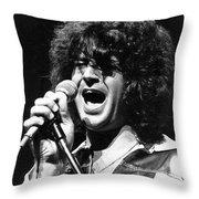 Ian Gillan Throw Pillow