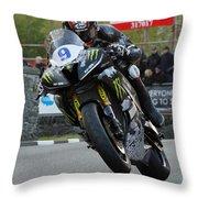 Ian Hutchinson 4 Throw Pillow
