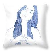 Ianassa Throw Pillow