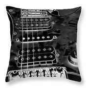 Ibanez Guitar Throw Pillow