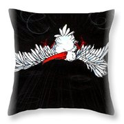 Ibis Down Throw Pillow