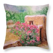 Ibiza Rustica Throw Pillow