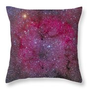 Ic 1396 And Garnet Star In Cepheus Throw Pillow