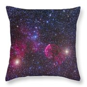 Ic 443 Supernova Remnant In Gemini Throw Pillow