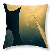 Icarus Journey To The Sun Throw Pillow