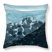 Ice And Rock Throw Pillow