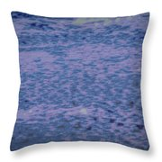 Ice And Snow #h1 Throw Pillow