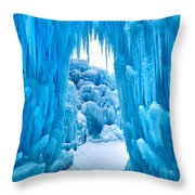 Ice Arch Throw Pillow