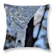Ice Art 47 Throw Pillow