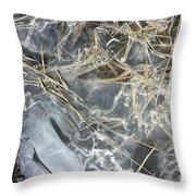 Ice Art IIi Throw Pillow