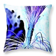 Ice Brush Throw Pillow