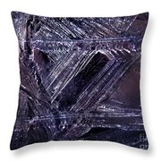Ice-cold Gothic Night Throw Pillow