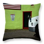 Ice Cold Pop Throw Pillow