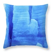 Ice Formations  Throw Pillow