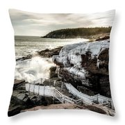 Ice Frosting Throw Pillow