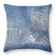 Ice Galore Throw Pillow