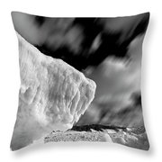 Ice Giant Throw Pillow