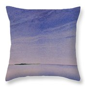 Ice Lake Throw Pillow