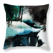 Ice Land Throw Pillow