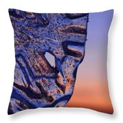 Ice Lord Throw Pillow