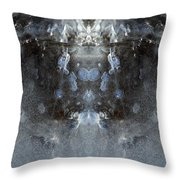 Ice Mass Two  Throw Pillow