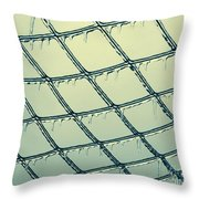 Ice Melting In The Sun Throw Pillow