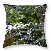Ice Mirror 2 Throw Pillow