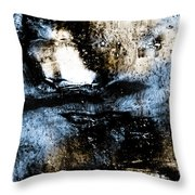 Ice Number One Throw Pillow by Bob Orsillo