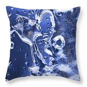 Ice Patterns 1  Throw Pillow