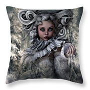 Ice Princess 004 Throw Pillow