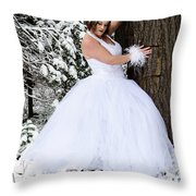 Ice Princess Sara 10 Throw Pillow