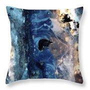 Ice Siren Throw Pillow