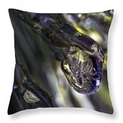 Ice Storm IIi Throw Pillow