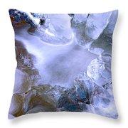 Ice Throne Throw Pillow