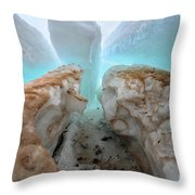 Ice Tooth Throw Pillow