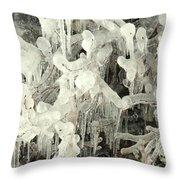 Ice Works Throw Pillow