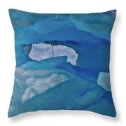 Iceberg Window Throw Pillow