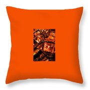Icecubes Throw Pillow