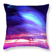 Icedance Throw Pillow