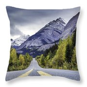 Icefield Parkway Throw Pillow