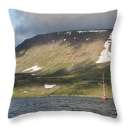 Iceland 18 Throw Pillow
