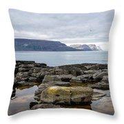 Iceland 24 Throw Pillow