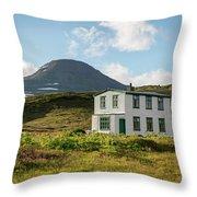 Iceland 32 Throw Pillow