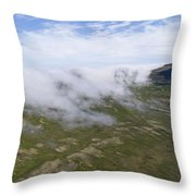 Iceland 9 Throw Pillow